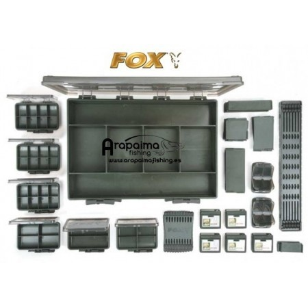 Caja FOX F BOX DELUXE SET LARGE DOUBLE