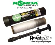 KORDA PVA SYSTEM ORIGINAL FUNNEL WEB 35 mm 7 m
