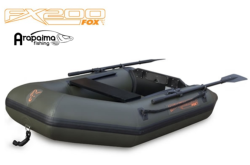 FOX FX200 INFLATABLE BOAT INC. HARD MARINE PLY FLOOR