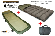OFERTA PACK: NGT BED CHAIR CLASSIC + SACO DE DORMIR ROYAL 5 ESTACIONES
