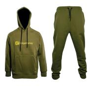 RidgeMonkey Sudadera + Pantalon Apearel Dropback Heavyweight Green S