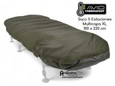 AVID CARP THERMAFAST XL 5 SEASONS SACO DORMIR MULTICAPA
