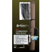FUNDA PROLOGIC COMMANDER multi sleeve 3 cañas regulable 10'-13'