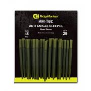 Ridge Monkey RM-Tec Anti Tangle Sleeves Weed Green Long 45 mm
