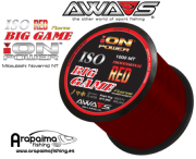 AWA-SHIMA ION POWER ISO BIG GAME RED FLUORINE 0,35mm 21.50 kg 1000 m