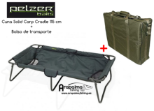 OFERTA BLACK FRIDAY! CUNA PELZER SOLID CARP CRADLE 115 cm + BOLSO DE REGALO