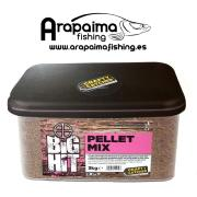 Crafty Catcher Big Hit Pellets MIX 3kg ( PVA Friendly)