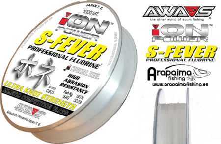 AWA-SHIMA ION POWER S-FEVER PROFESSIONAL FLUORINE 0,35mm 15.70 kg 1000 m