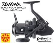 OFERTA: DAIWA BLACK WIDOW CARP 5000LDA