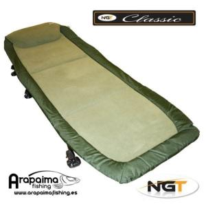 NGT BED CHAIR CLASSIC WITH RECLINER (con rueda)