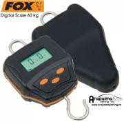 FOX BASCULA DIGITAL SCALE 60 kg & Case