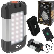 Linterna recargable NGT Floodlight & Power Bank System con bateria para moviles
