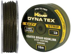TRENZADO RECUBIERTO KKARP DYNA TEX EAZY STRIP CAMO BROWN 25 LB 16 M