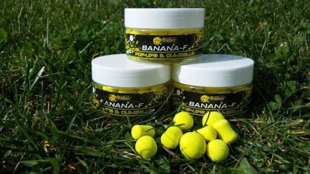 PERALBAITS POP UPS MIXED BANANA-F 14-18 mm 150 gr