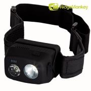 Linterna RidgeMonkey VRH300 USB Rechargeable Headtorch
