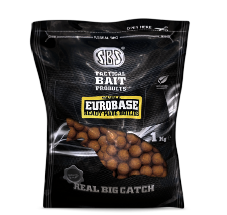 SBS SOLUBLE EUROBASE READY-MADE BOILIES GARLIC (AJO) 20 mm 1 kg
