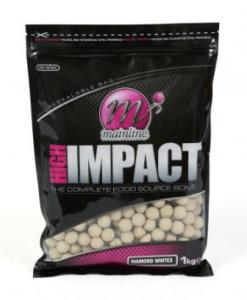 OFERTA LANZAMIENTO: MAINLINE Boilies High Impact WHITE DIAMONDS 1 kg 15 mm