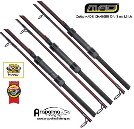 OFERTA PACK!! 3 CAÑAS MAD® CHARGER 10 ft (3m) 3,5 lb full duplon