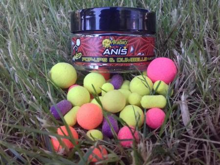 PERALBAITS POP UPS MIXED ANIS 14-18 mm 150 gr