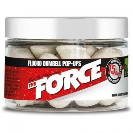 NOVEDAD! ROD HUTCHINSON FLUORO DUMBELL POP UP THE FORCE 15 mm
