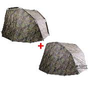 OFERTA PACK! VIRUX CAVE CAMO BIWY + DOBLE CAPA