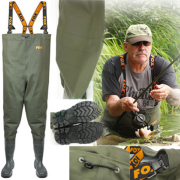 OFERTA! Fox Chest Waders Vadeador Todas las Tallas