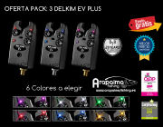 OFERTA PACK: 3 DELKIM EV PLUS (6 colores disponibles)