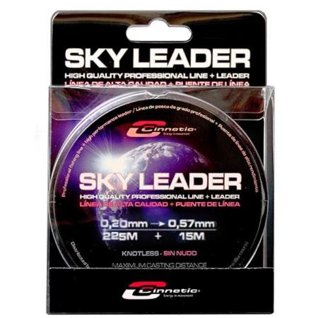 CINNETIC SKY LEADER Linea conica 0,20 mm => 0,57 mm 240 m