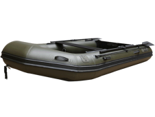 FOX FX 290 GREEN INFLATABLE BOAT INC. HARD ALUMINIUM FLOOR