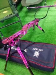 ROD POD SCORPION PINK CAMO EDITION 3 a 5 cañas