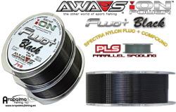 AWA-SHIMA ION POWER FLUO+ BLACK 0,33 mm 16,20 kg 600 m
