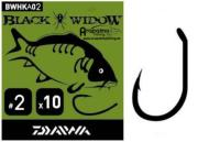 DAIWA Carp Hook Black Widow Tipo A - Nº 2