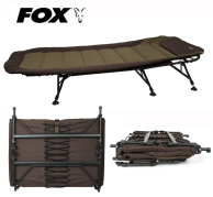 Novedad! Bed Chair Fox EOS 3 Bedchair 6 Leg 1 m de ancha