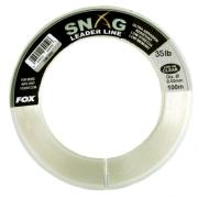 FOX SNAG LEADER LINE CLEAR 0,50 mm 100 m 15,9 kg