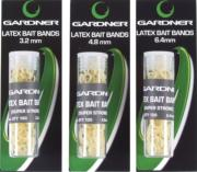 GARDNER LATEX BAIT BANDS 3,2 mm 100 UNIDS.
