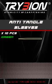 TRYBION TACKLE ANTI TANGLE SLEEVES VERDE