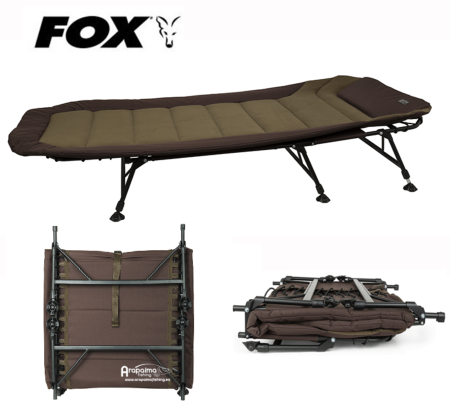 Novedad! Bed Chair Fox EOS 1 Bedchair 6 Leg 80 m de ancha