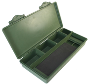 NGT CARP TACKLE BOX WITH RIG BOARD