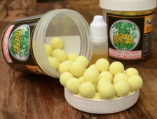 Solar Bait JUICY PINEAPPLE perfect POP-UPS 14 mm con dip