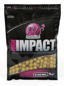 OFERTA LANZAMIENTO: MAINLINE Boilies High Impact High Leakage Pineapple 1 kg 15 mm