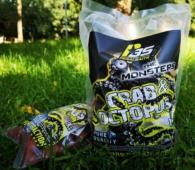 PERALBAITS BOILIE CRAB & OCTOPUS 20 mm 1 KG