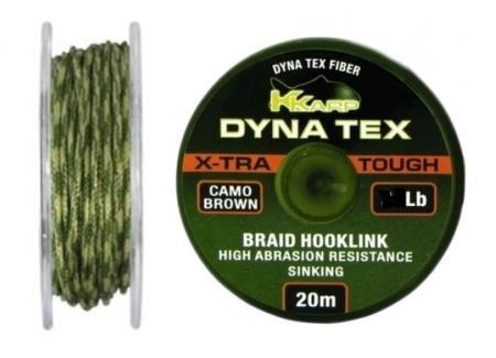 TRENZADO ANTI-ABRASION KKARP DYNA TEX X-TRA TOUGH CAMO BROWN 35 LB 20 M