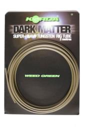 KORDA DARK MATTER SUPER-HEAVY TUNGSTEN RIG TUBE weed green