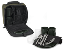 FOX R-SERIES 2 PERSON DINNER SET BOLSO PICNIC CON CUBIERTOS