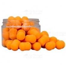 STARBAITS DUMBELL POP UP FLUORO-LITE SIN AROMA 14 mm NARANJA FLUORO