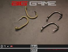 NOVEDAD! TRYBION ANZUELO BIG GAME Nº 2 BLACK NICKEL