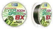 ASSO EVER GREEN 8x 0,50 mm 300 m  54,5 kg/120 Lb