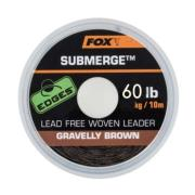 FOX SUBMERGE LEACORE SIN PLOMO GRAVELLY BROWN 60 lb (27,2 kg) 10 m