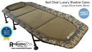 OFERTA FLASH! ZFISH Bed Chair Shadow Camo Bedchair (1 m de ancha)