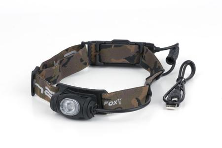 Linterna FOX HALO AL350C HEADTORCH RECARGABLE